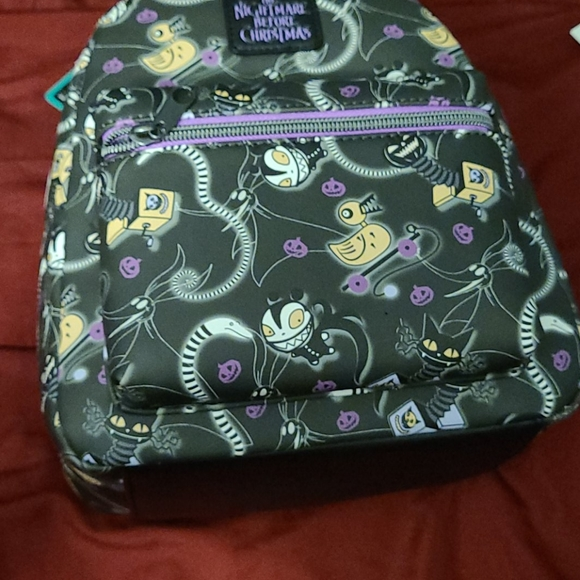 Tim burton NBCxDisneyx loungfly mini backpack bag